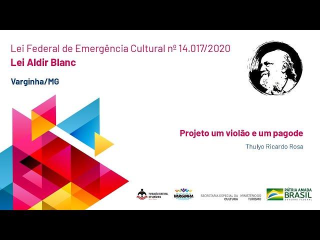 Projeto um violão e um pagode | Thulyo Ricardo Rosa