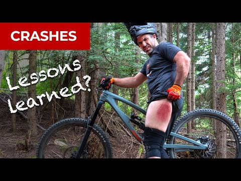 What I learned from crashing on big jumps at Whistler Bike Park