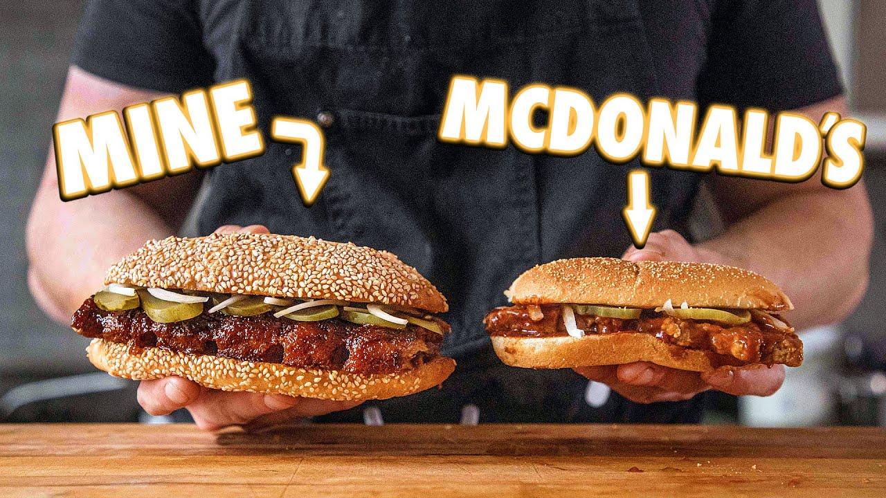McDonald's McRib (But Better)