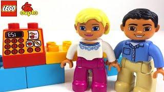 LEGO DUPLO MI PRIMERA TIENDA SUPERMERCADO JUGUETE CON BLOQUES PARA CONSTRUIR CON DEPENDIENTE Y COCHE