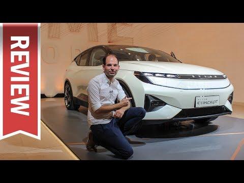 Byton Concept (in Deutschland 2020): Sitzprobe, Cockpit und autonomes Fahren