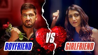 Girlfriend vs Boyfriend - Rapbaazi | Valentine's Day Special | Being Indian