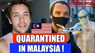 From London To  Malaysia - My Quarantine Experience 🇲🇾 😱
