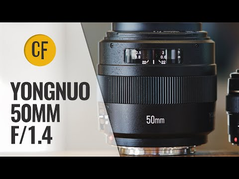 Yongnuo 50mm f/1.4 (II) lens review and comparison (Full-frame & APS-C)