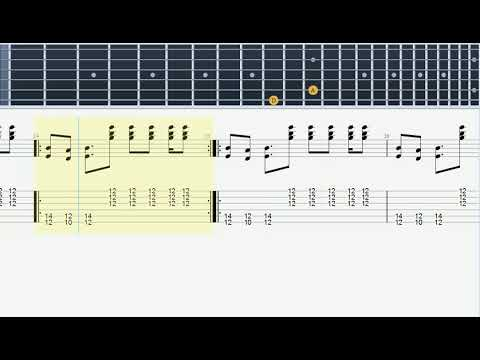 Electric Funeral  - Guitar Tab (Black Sabbath) - How to play on Guitar