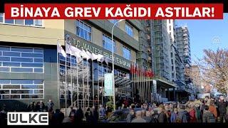 CHPli Maltepe Belediyesi karıştı İşçiler toplandı...