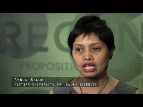 Aynun Begum, Western Univ. of Health Sciences - CIRM Stem Cell #SciencePitch Challenge