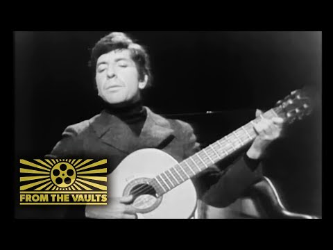 Pop-up Video: Leonard Cohen performs 'The Stranger Song' first TV music appearance | From the Vaults