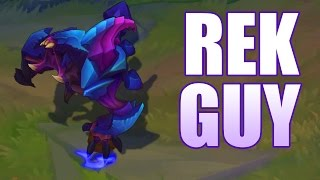 League of Legends : Rek Guy