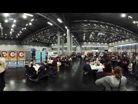 Comic Con 2017 Tabletop Area walking around