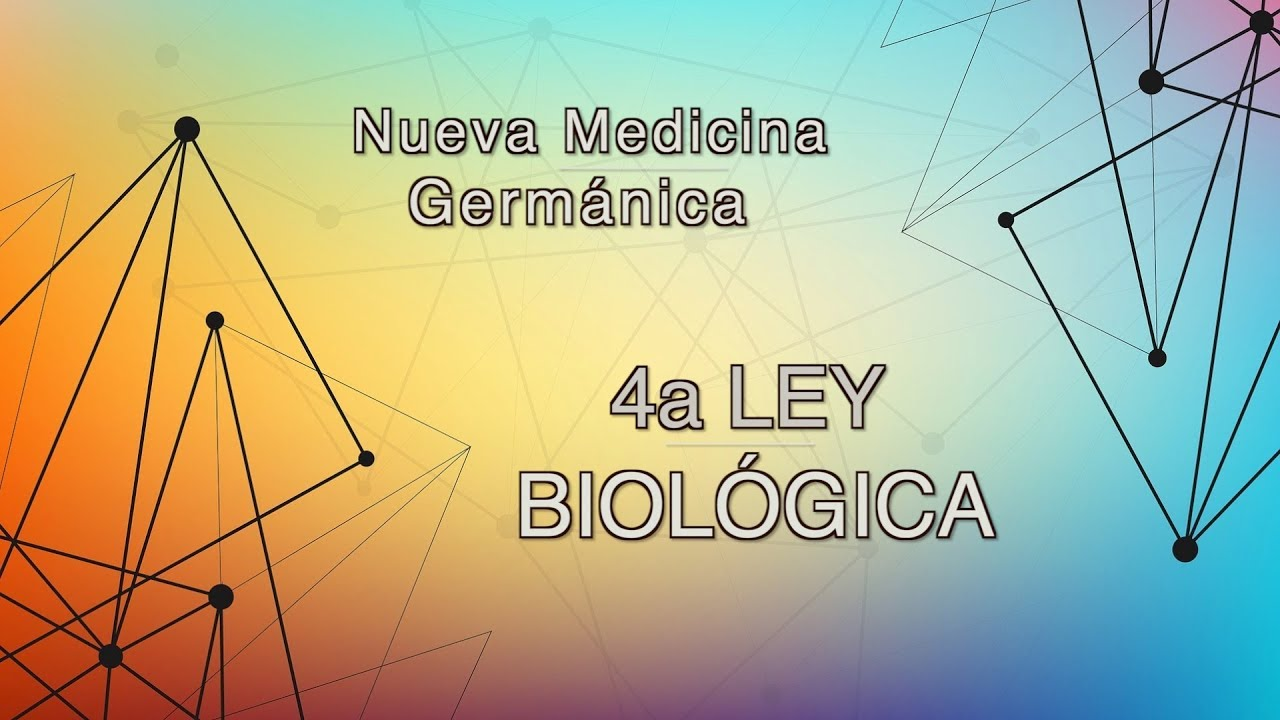 4a Ley Biologica   Nueva Medicina Germanica