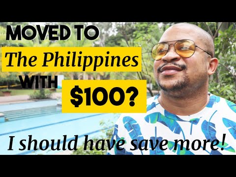 MOVED To The PHILIPPINES With $100?  | Travel Update