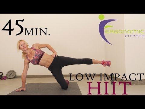 45 MIN LOW IMPACT HIIT WORKOUT FOR BEGINNERS