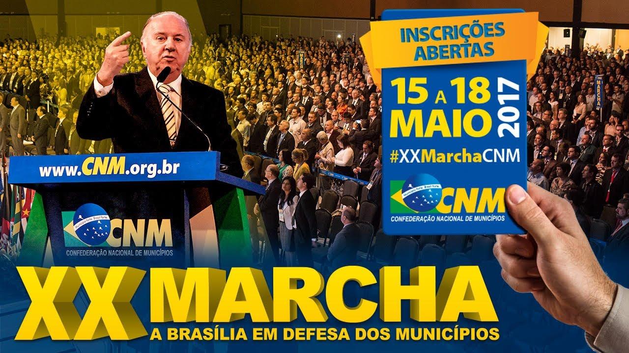 Resultado de imagem para XX Marcha a Brasília em defesa dos Municípios
