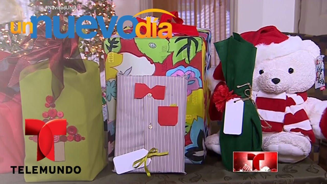 Ideas f ciles y pr cticas para envolver regalos navide os - Ideas para regalos navidenos ...