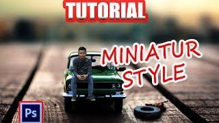 Cara Edit foto Miniatur Style Effect dengan Photoshop
