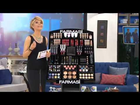 Farmasi Kozmetik Gülben Ergen Tanıtım 08 05 2014