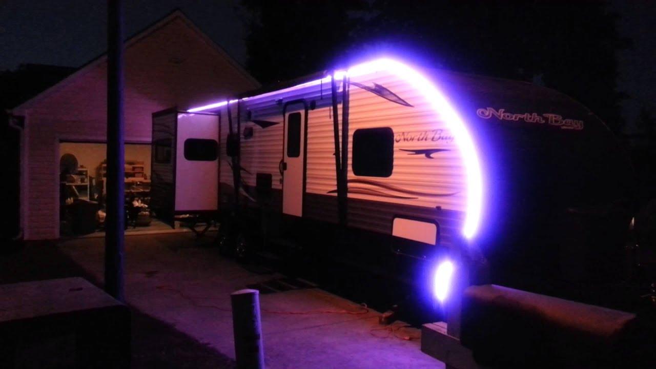 RV LED LIGHT STRIPS - YouTube