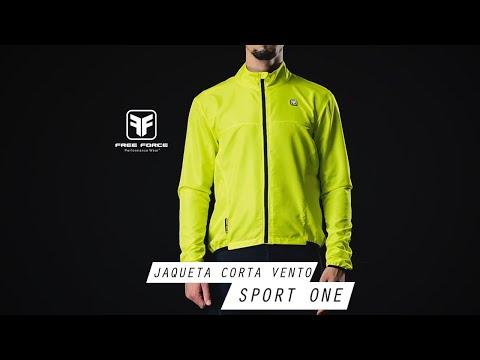 Jaqueta Corta Vento Sport One - Free Force