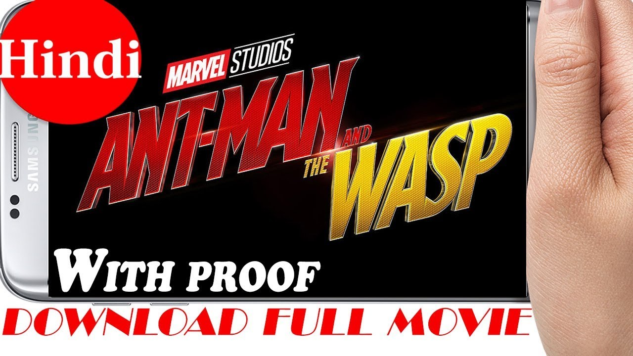 Download How to Download Ant-Man and the Wasp Full Movie in Hindi || Full tutorial