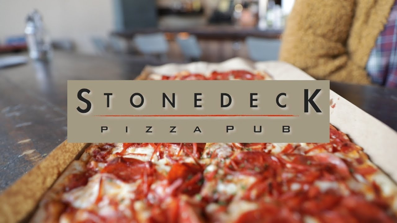 A place with PIZZA Meal Kits? and Beer! | StoneDeck Pizza Pub
