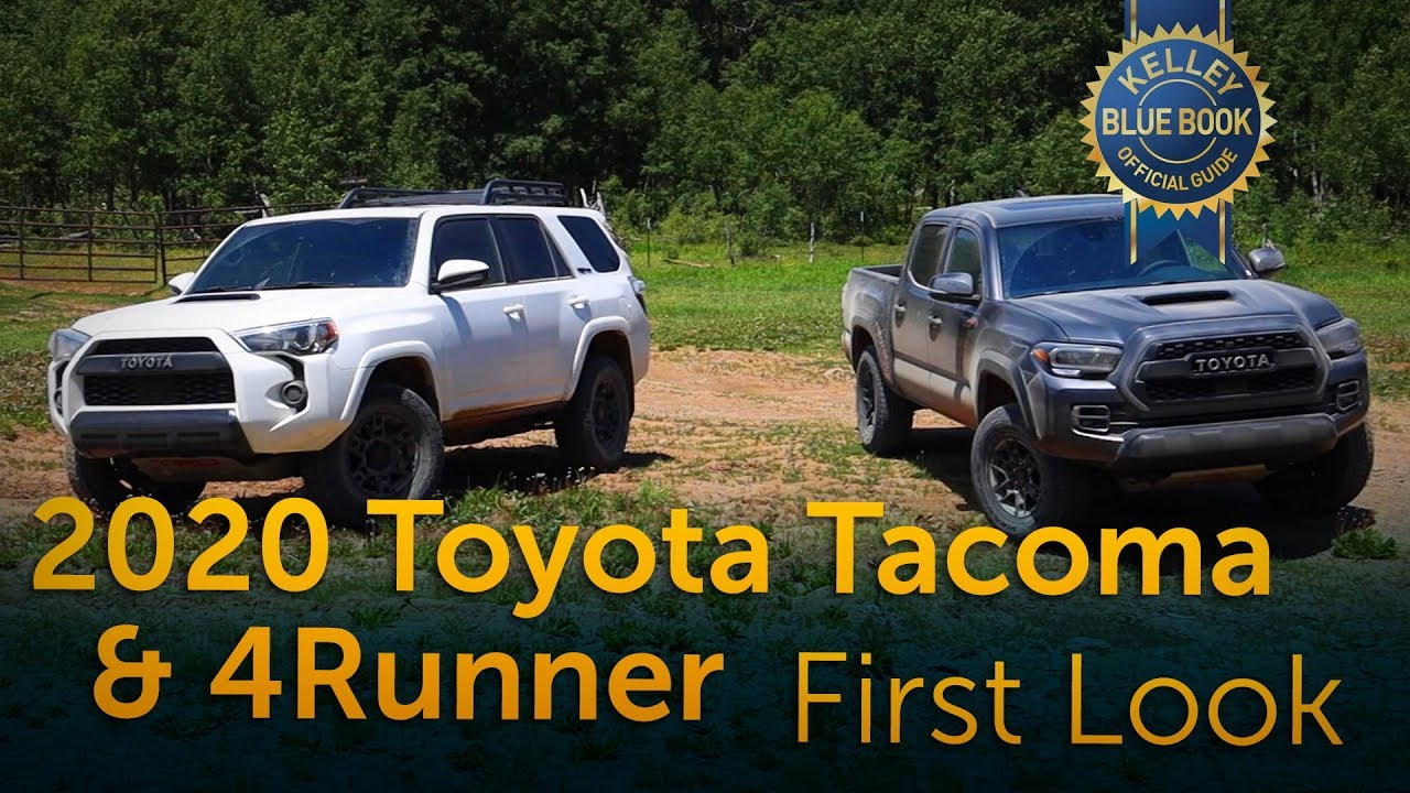 2020 Toyota Tacoma 4runner First Look