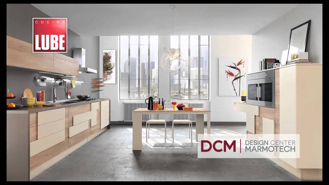 Cocinas Modulares Italianas CUCINE LUBE - Modelo Creativa - YouTube
