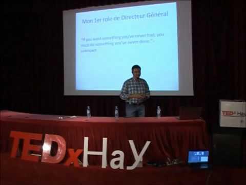 N'ayez pas peur de prendre des risques : Samir BENMAKHLOUF at TEDxHay