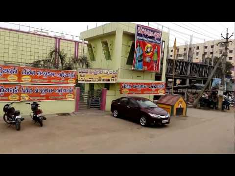 Andhra Capital City Area-Nandigama View towards Vijayawada as on 01.02.2017 by Bus