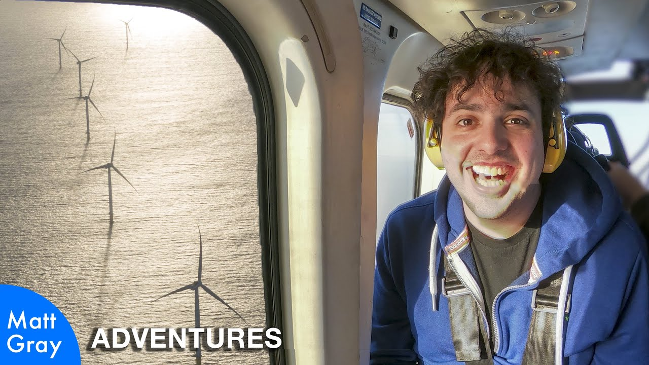 Youtube Thumbnail Image: Offshore Wind Turbines Up Close