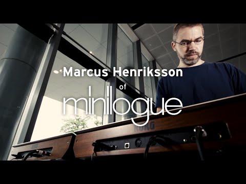 Interview et démo de Marcus Henriksson sur KORG Minilogue (vidéo de La Boite Noire)
