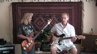 40-Miles of Bad Road - Baritone Guitar and Bass Instrumental - JIM&DEB