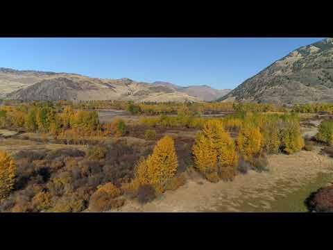 Phantom 4 pro advanced drone over Tonasket Washington