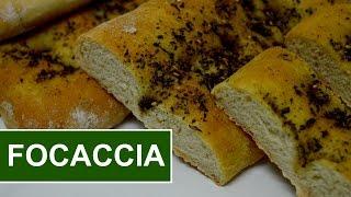 How To Make FOCACCIA Bread - FOCACCIA Recipe!!  Simply Food