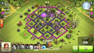 Clash Of Clans Giant Attack Video