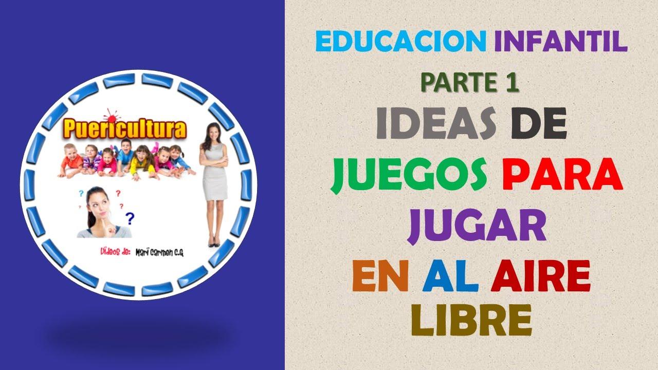 Juegos educativos infantiles para niños gratis - juegos al aire ...