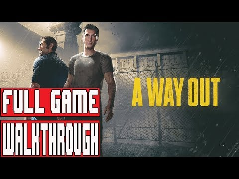A WAY OUT Gameplay Walkthrough Part 1 Full Game (Xbox One X) - No Commentary