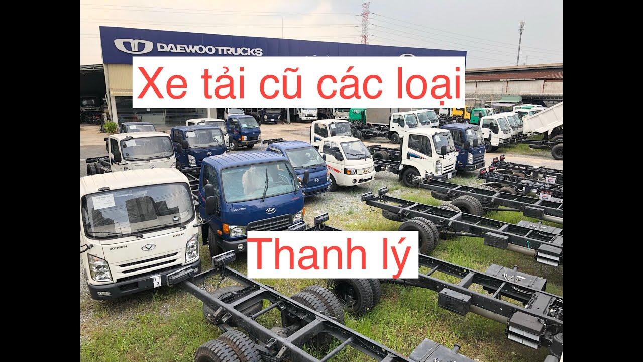Xe tải thanh lý ngân hàng- Xe tải cũ các loại giá rẻ trả góp-xe tải lướt/Quang:0901.60.71.75