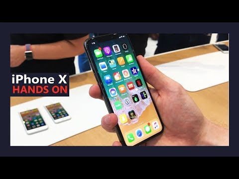 iPhone X, iPhone 8 and 8 Plus - Hands on at the Steve Jobs Theatre
