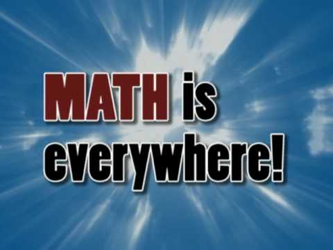 math is everywhere By asking and showing children daily about where they experience math in the real world, they will begin to realize that math is indeed everywhere standards students understand that numbers and the operations performed on them can be used to describe things in the real world.
