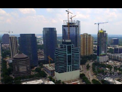 Houston Galleria - San Felipe & Post Oak - Construction- 4K HD
