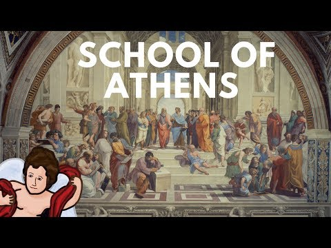The School of Athens: Visually Representing the Flow of Knowledge