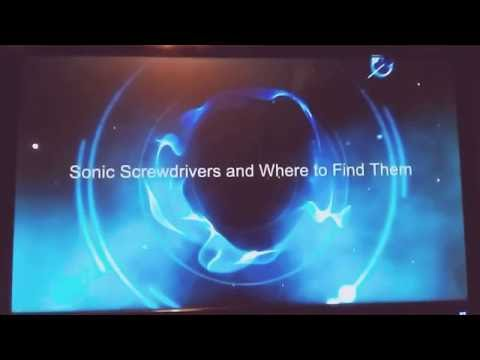 Sonic Screwdrivers and Where to Find Them