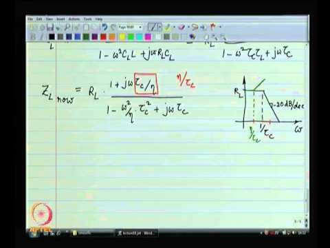 Mod-06 Lec-16 Bandwidth estimation using short circuit