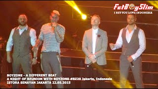 BOYZONE - A DIFFERENT BEAT live in Jakarta, Indonesia 2015