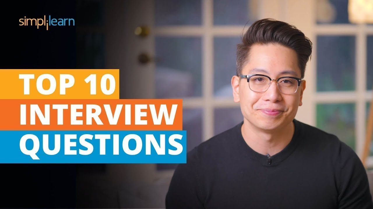 Top 10 Interview Questions And Answers   Job Interview Tips For Freshers