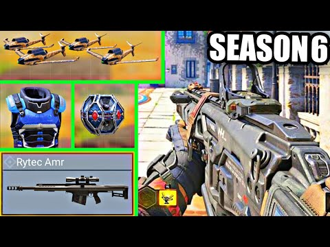 Download Everything NEW In Season 6! 3 Weapons + Free Kill Effects   New Class   Operator Skill & More! Codm!