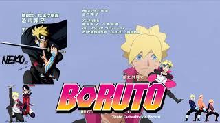Boruto: Naruto Next Generations - Ending 3 Japones | 720p HD ligero