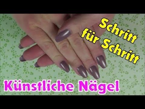 Künstliche Fingernägel Aufkleben Anleitung Tipps Zum