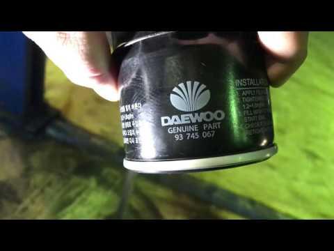 Ravon R3 - Замена масла в ДВС
